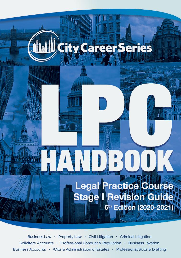 LPC Handbook by City Career Series